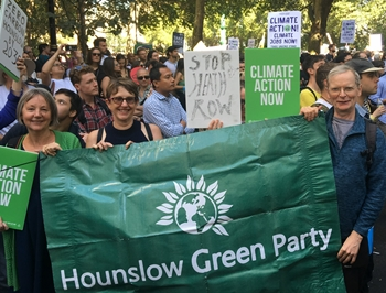 Hounslow Greens at Climate Change
